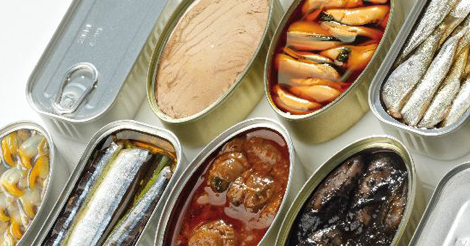 Spain bills more than 14 million euros in frozen and canned seafood products